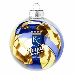Kansas City Royals Large Tinsel Ball Ornament