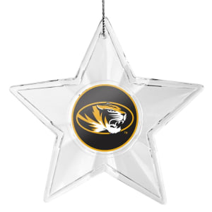 Missouri Tigers Star Ornament