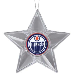 Edmonton Oilers Star Ornament