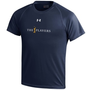 THE PLAYERS Under Armour Youth Tech Performance T-Shirt - Navy