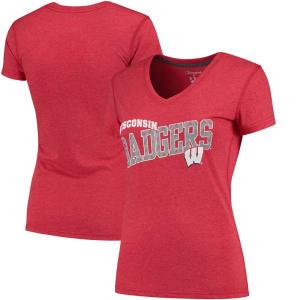 Wisconsin Badgers Champion Women's Achievement T-Shirt - Red