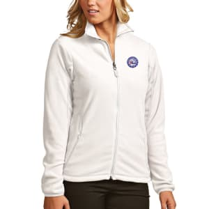Philadelphia 76ers Antigua Women's Ice Full-Zip Jacket - White