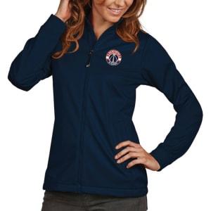 Washington Wizards Antigua Women's Golf Full-Zip Jacket - Navy