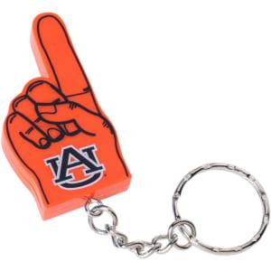 Auburn Tigers #1 Foam Finger Keychain