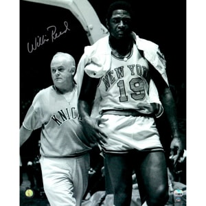 Willis Reed New York Knicks Steiner Sports Autographed 16'' x 20'' Walking off Court Photograph