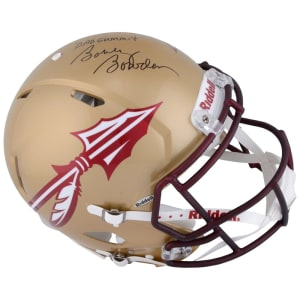 """Bobby Bowden Florida State Seminoles Fanatics Authentic Autographed Riddell Speed Pro-Line Helmet with """"Dadgummit"""" Inscription"""