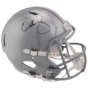Urban Meyer Ohio State Buckeyes Fanatics Authentic Autographed Riddell Speed Replica Helmet
