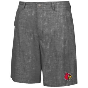Louisville Cardinals Colosseum Match Play Shorts - Charcoal