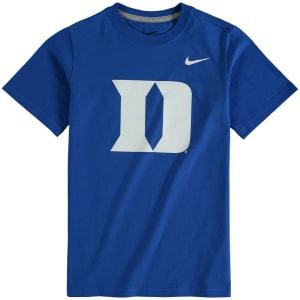 Duke Blue Devils Nike Youth Cotton Logo T-Shirt - Royal