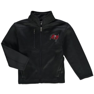 Tampa Bay Buccaneers Preschool Helix Bonded Full-Zip Jacket - Gray