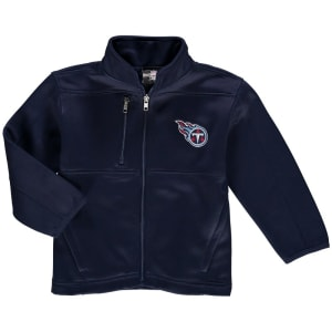 Tennessee Titans Preschool Helix Bonded Full-Zip Jacket - Navy