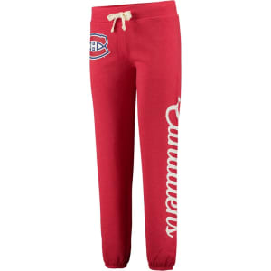 Montreal Canadiens G-III 4Her by Carl Banks Women's Scrimmage Pants - Red