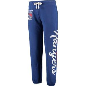 New York Rangers G-III 4Her by Carl Banks Women's Scrimmage Pants - Blue