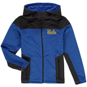 UCLA Bruins Colosseum Youth Corded Full-Zip Hooded Jacket - Blue