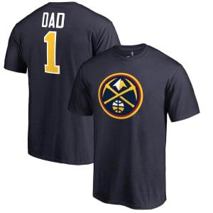 Denver Nuggets #1 Dad T-Shirt - Navy