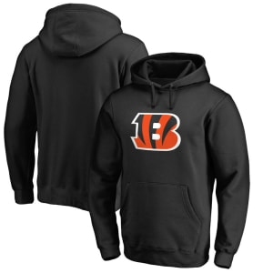 Cincinnati Bengals NFL Pro Line by Fanatics Branded Big & Tall Primary Logo Hoodie - Black