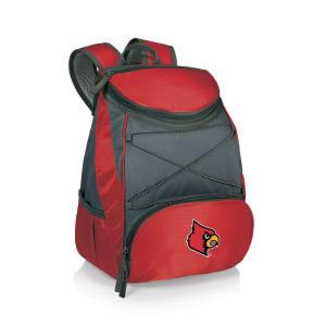 Louisville Cardinals PTX Backpack Cooler - Red