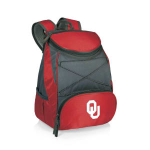 Oklahoma Sooners PTX Backpack Cooler - Red