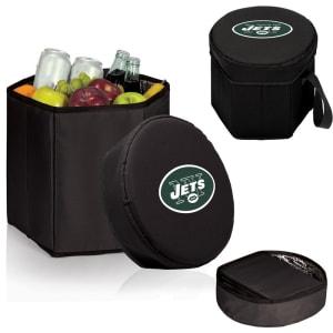 New York Jets 12 Quart Bongo Cooler - Black