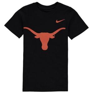 Texas Longhorns Nike Preschool Logo T-Shirt - Black
