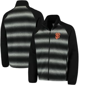 San Francisco Giants G-III Sports by Carl Banks Discovery Full-Zip Jacket - Black
