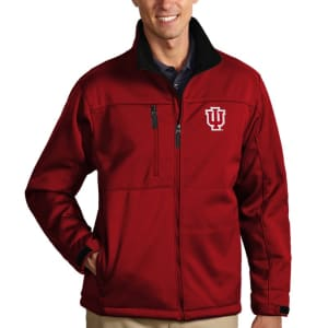 Indiana Hoosiers Antigua Traverse Full-Zip Jacket - Crimson