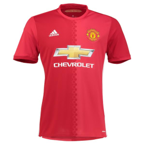 Manchester United adidas Replica Home 2016/17 Jersey - Red