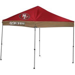 San Francisco 49ers 9' x 9' 2-Tone Straight Leg Canopy Tent