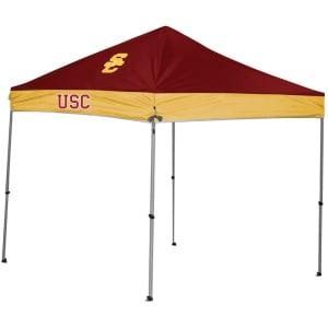 USC Trojans 9' x 9' 2-Tone Straight Leg Canopy Tent