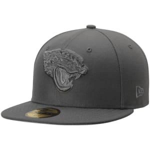 Jacksonville Jaguars New Era Tonal League Basic 59FIFTY Fitted Hat - Graphite