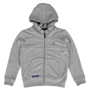 Everton F.C. Youth Textured Full-Zip Hoodie - Gray