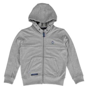 Everton F.C. Youth Textured Full-Zip Hoodie - Gray
