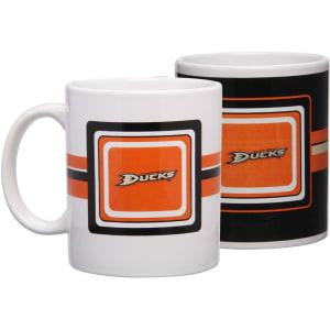 Anaheim Ducks 11oz. Two-Pack Mug Set
