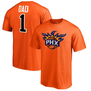 Phoenix Suns #1 Dad T-Shirt - Orange