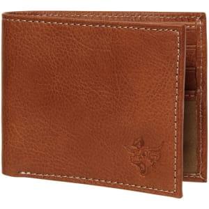 Texas Longhorns Vault Billfold Wallet - Brown