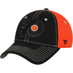 Philadelphia Flyers Impact Slider Adjustable Hat - Black/Orange