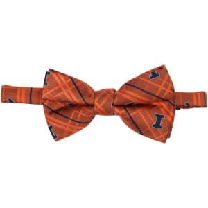 Illinois Fighting Illini Oxford Bow Tie - Orange