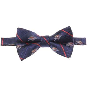 Oklahoma City Thunder Oxford Bow Tie - Navy