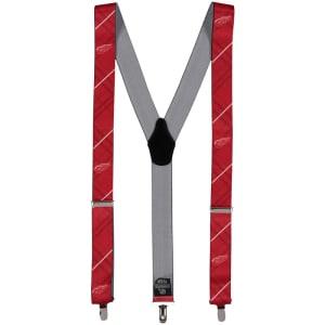Detroit Red Wings Suspenders - Red