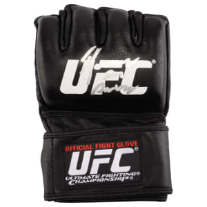 Rafael Dos Anjos Ultimate Fighting Championship Fanatics Authentic Autographed Single Fight Model Glove
