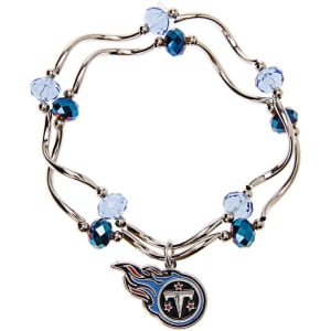 Tennessee Titans Women's Bead Stretch Bracelet