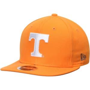 Tennessee Volunteers New Era State Clip Original Fit 9FIFTY Adjustable Snapback Hat - Tennessee Orange