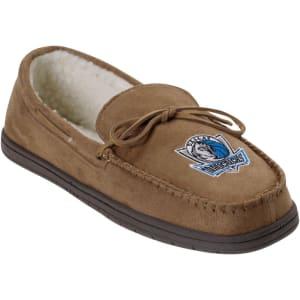 Dallas Mavericks Moccasin Slippers