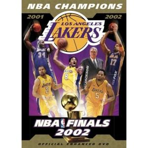 Los Angeles Lakers 2002 NBA Champions DVD