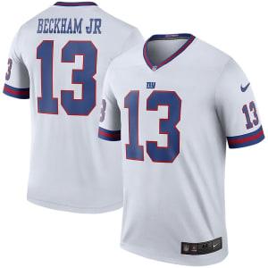 Odell Beckham Jr New York Giants Nike Color Rush Legend Jersey - White