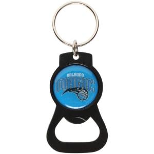 Orlando Magic Bottle Opener Keychain - Black