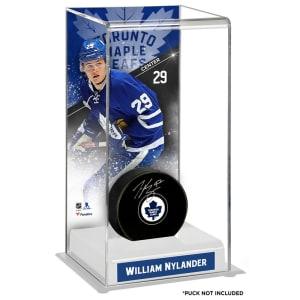 William Nylander Toronto Maple Leafs Fanatics Authentic Deluxe Tall Hockey Puck Case