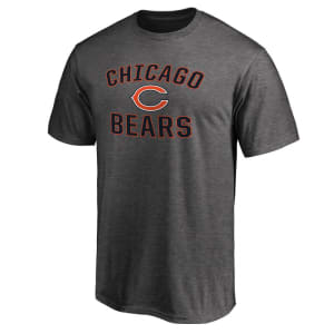 Chicago Bears NFL Pro Line Victory Arch T-Shirt - Gray