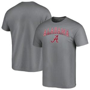 Alabama Crimson Tide Fanatics Branded Campus T-Shirt - Charcoal