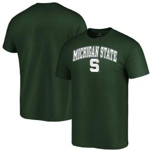 Michigan State Spartans Fanatics Branded Campus T-Shirt - Green
